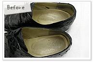靴 鞄 修理 クリーニング 安い